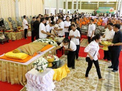 สิ้นแล้ว หลวงปู่คิ้ม เกจิดังราชบุรี มรณภาพสงบ สิริอายุ 91 ปี 70 พรรษา